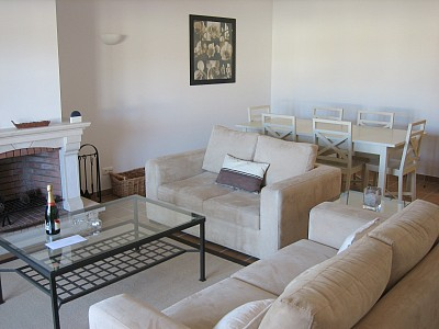 Praia D'el Rey apartment rental - Living room - other direction